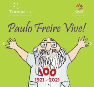 Legado Paulo Freire. Trama al Sur se suma a la Campaña